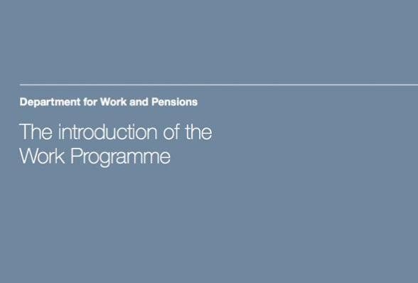 DWP Work Programme
