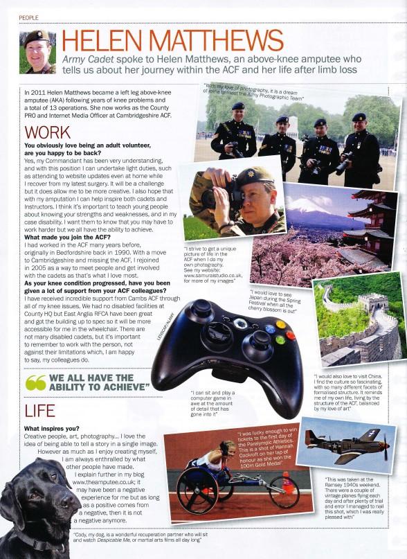 Army Cadet Magazine Article