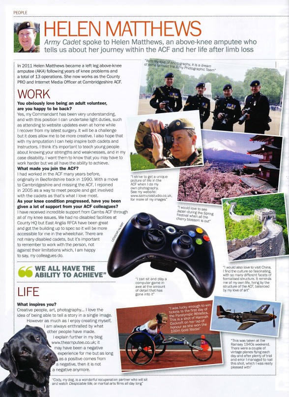 Army Cadet Magazine Article